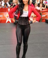 Nicole Scherzinger in tights