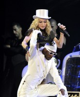 Madonna on stage in Germany