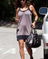 Halle Berry is braless