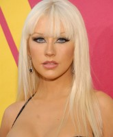Christina Aguilera has perfect makeup