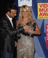Britney Spears accepts three awards at VMAs 2008