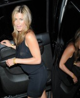 Jennifer Aniston in sexy dress