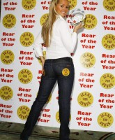 "Jennifer Ellison is crowned ""Rear of the Year"""
