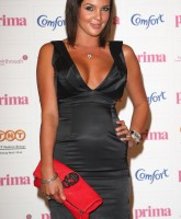 Danielle Lloyd is now a brunette