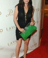 Shannon Doherty is beautiful in black