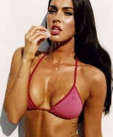 Megan Fox bikini pics in GQ Oct 2008