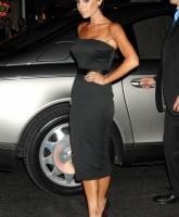 Victoria Beckham in black