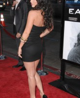 Megan Fox shows back