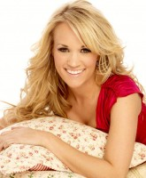 Carrie Underwood is blonde girl