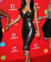 Nicole Scherzinger in skintight dress
