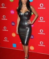 Nicole Scherzingers skintight dress