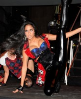 Nicole Scherzinger is flexible
