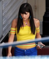 Selma Blair in yellow top