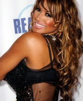 Traci Bingham in see through top