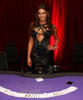 Danielle Lloyd attends poker tournament