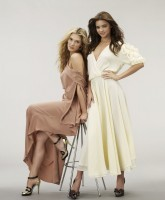 Delta Goodrem & Miranda Kerr fashion photos