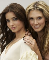 Delta Goodrem and Miranda Kerr