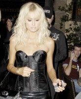 Paris Hiltons beautiful corset