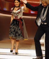 Salma Hayek attends German show