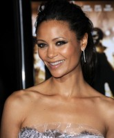 Thandie Newton in silver