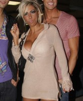 Jodie Marsh shows her skimpy panty