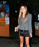 Amanda Bynes at Zac Efrons birthday party