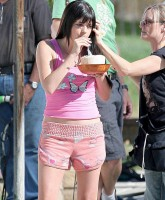 Selma Blair in shorts