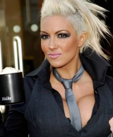 Jodie Marsh showing bust