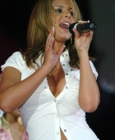 Cheryl Tweedy Cole shows busty globes