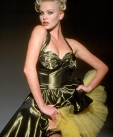Charlize Theron is a kinky 50s siren