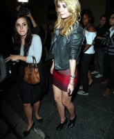 Mischa Barton rocked a party