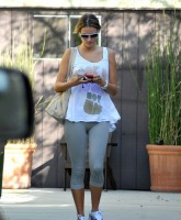 Alessandra Ambrosio leaving gym