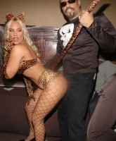 Coco & Ice T at Halloween Party