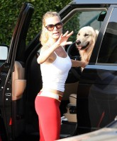 Nicolette Sheridan looking SuperHot in tight Outfit