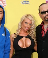 Coco Austin showing off her Boobs