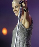 Lesbian Icon, Pink   Performing