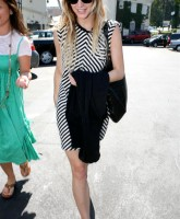Ashlee Simpson Candids in Hollywood