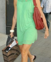 Stacy Keibler shopping in Beverly Hills