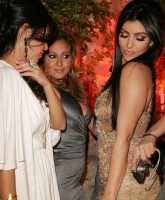 Kim Kardashians birthday Party
