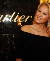 Anna Kournikova at Cartier and MOCA Kickoff Art Basel