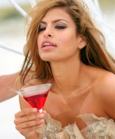 Eva Mendes Campari Photoshoot