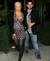 Christina Aguilera Not Shy About Baby Weight