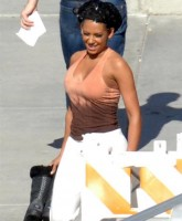 Melanie Brown has Big Boobs and Tight Abs