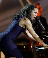 Alicia Keys at the Nobel Peace Prize event