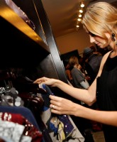 Stacy Keibler Attends Maxine Launch