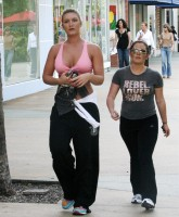 Brooke Hogan Jogging