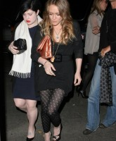 Hilary Duff with Kelly Osborne!