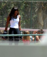 Naomi Campbell Work Out