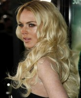Lindsay Lohan All Dressed Up!