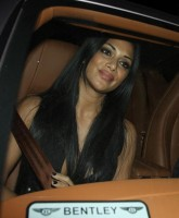 Nicole Scherzinger Flashes more than Smiles
